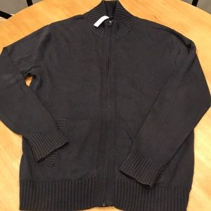Gap Zippered Cardigan :: Size L